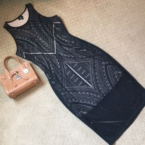 NWT Gorgeous Black Mossimo Cut-Out Tank Dress, M